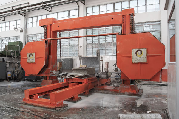 Arc line cutting machine